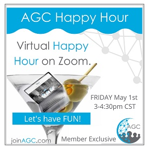 Just Plain Fun - Join Us For Happy Hour On Zoom Photo